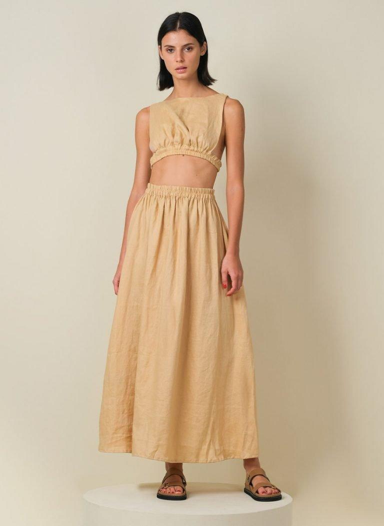 Kamina Linen Set Cream Front (Revised