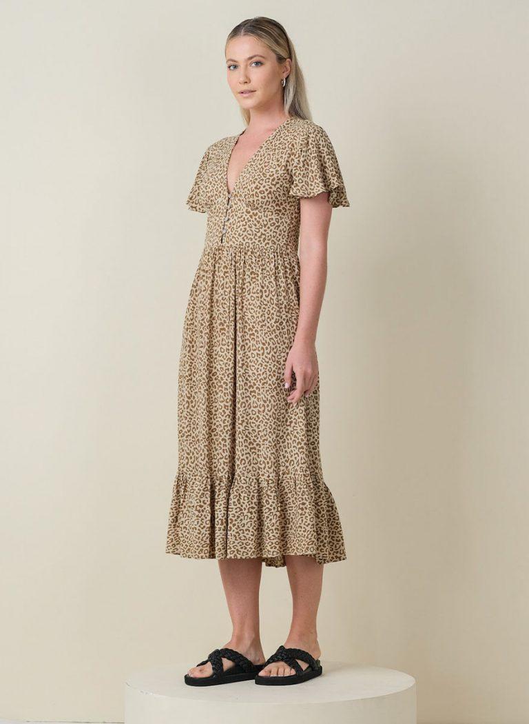 Leony Midi Dress Front Side (Resized)