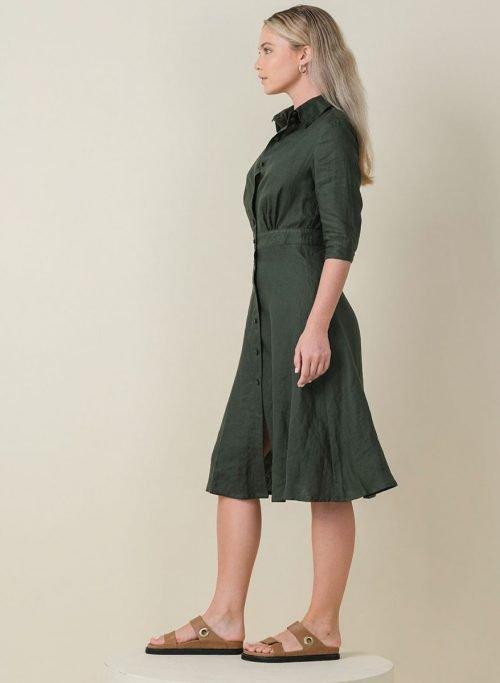 Jane Dress Army Side (Resized)