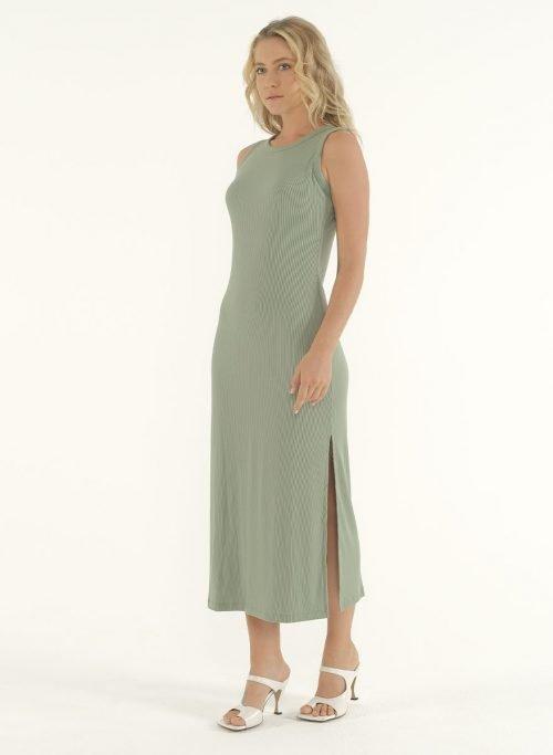 Joselyn Midi Dress in Mint Green 5