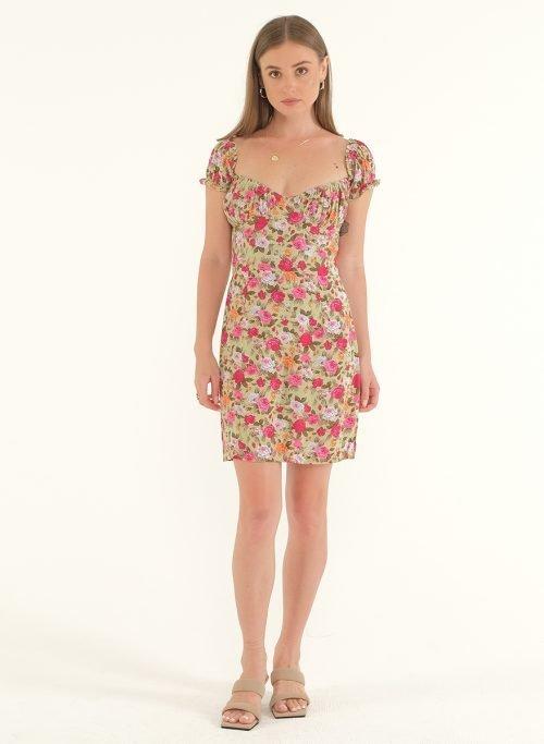 Poppy Off-Shoulder Mini Dress 1