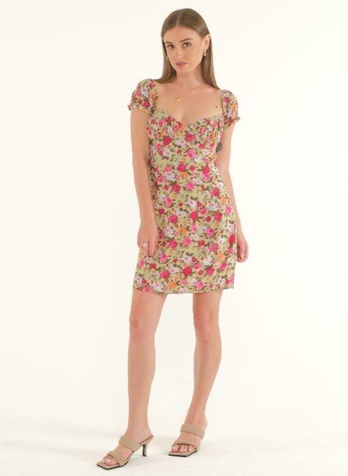 Poppy Off-Shoulder Mini Dress 2