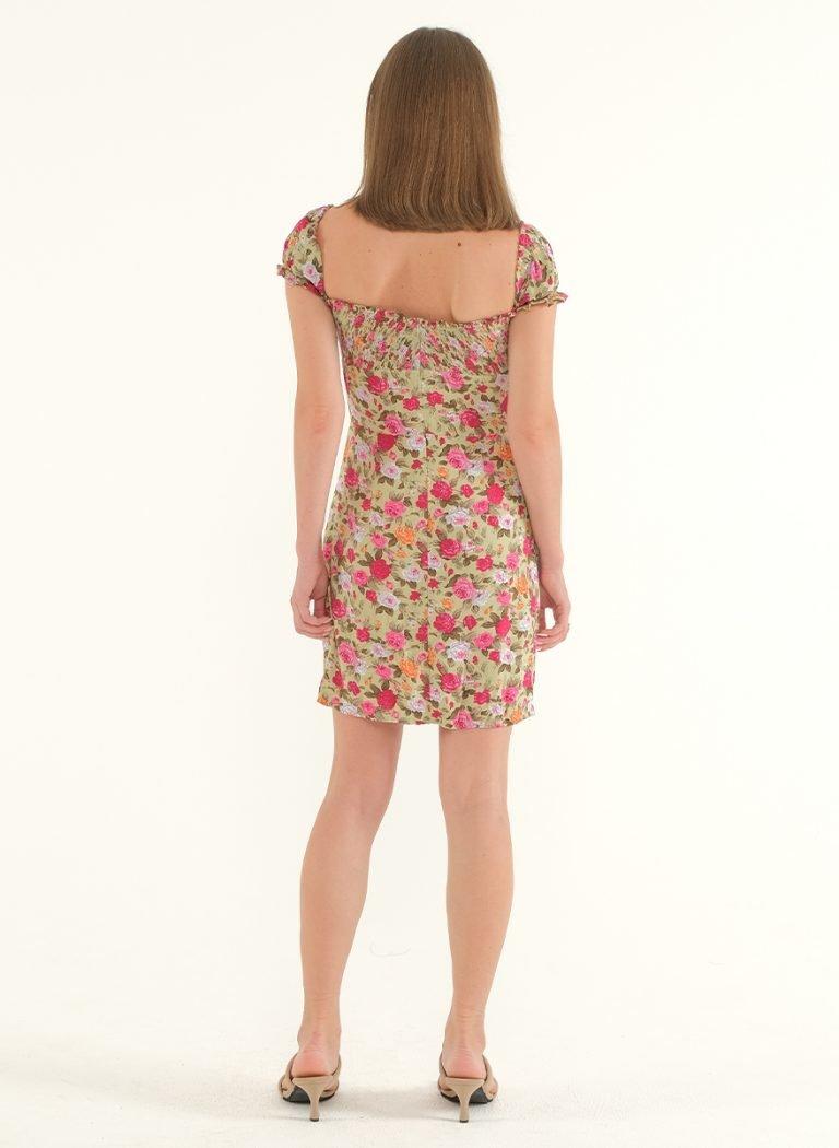 Poppy Off-Shoulder Mini Dress 3