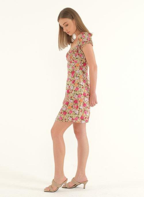Poppy Off-Shoulder Mini Dress 4