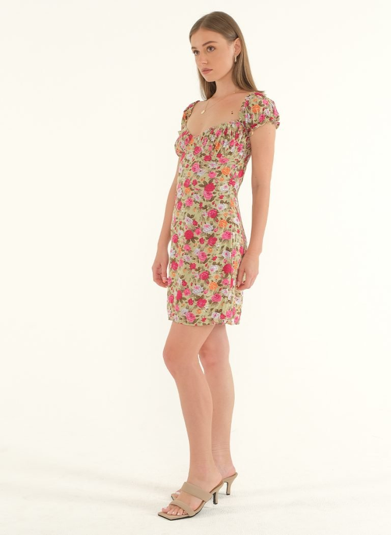 Poppy Off-Shoulder Mini Dress 5