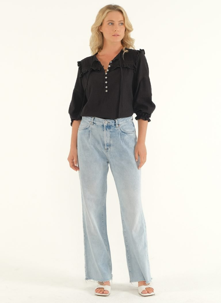 The Wild Side Blouse – Black 1