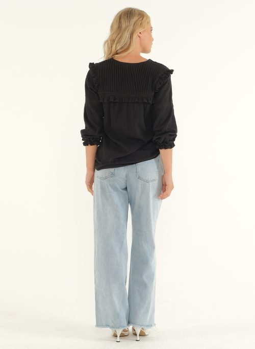 The Wild Side Blouse – Black 3