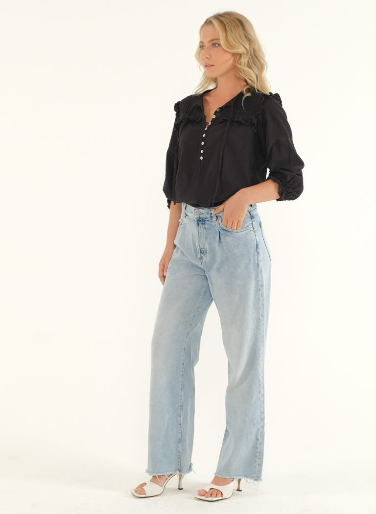 The Wild Side Blouse – Black 5