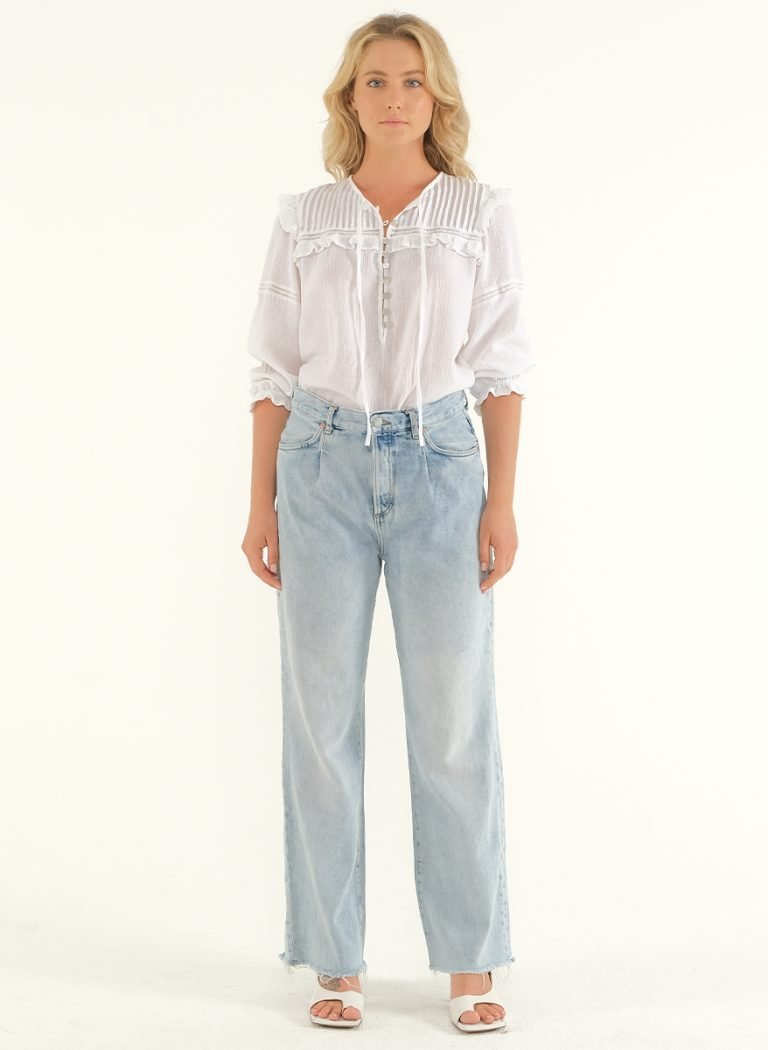The Wild Side Blouse – White 1