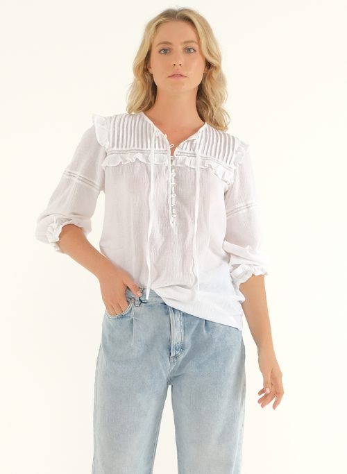 The Wild Side Blouse – White 2