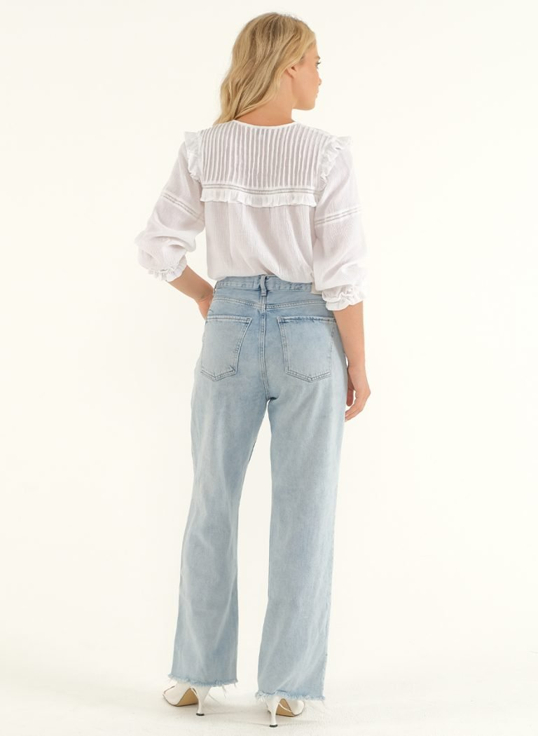 The Wild Side Blouse – White 3